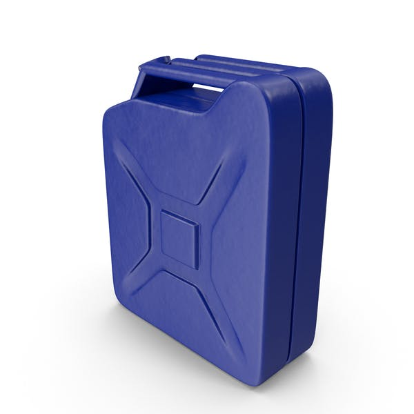 Gas Can Blue