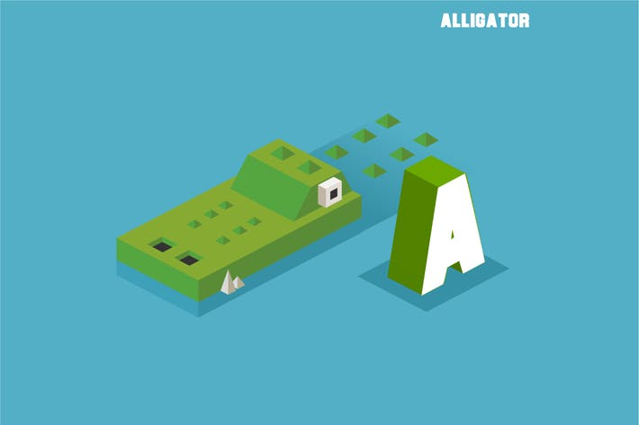 Thumbnail for A for Alligator. Animal Alphabet