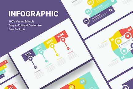 Infographics Step - Sanstemp