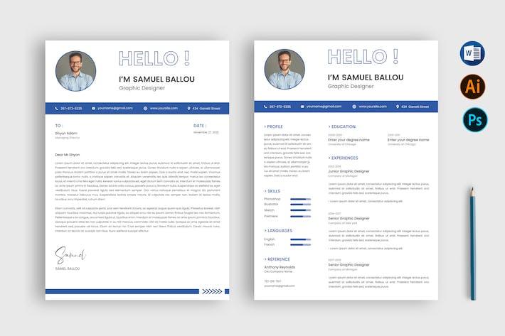 Thumbnail for CV Resume & Letter