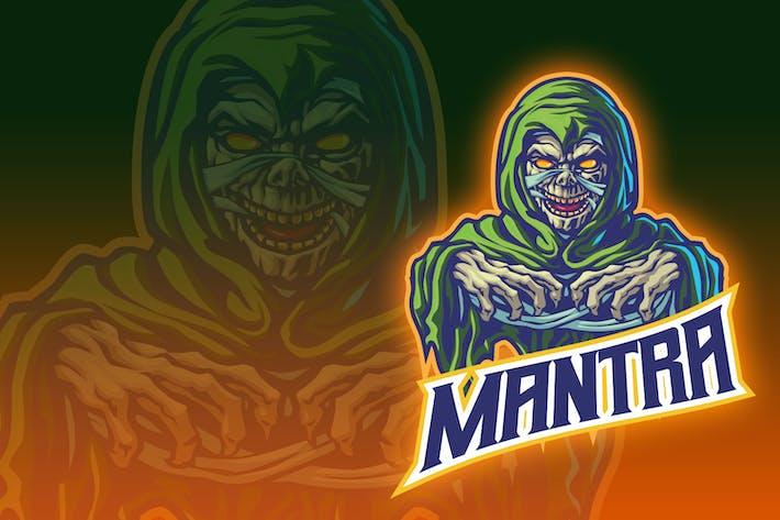 Thumbnail for Green Hoody Demon Esport Logo