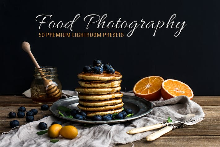 Thumbnail for 50 Premium Food Photography Lightroom Presets