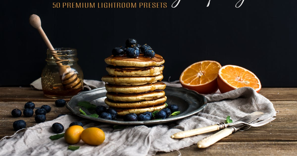 Download 50 Premium Food Photography Lightroom Presets by beart-presets