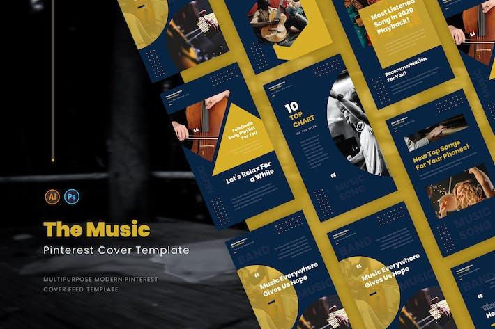 Couverture pour The Music Pinterest