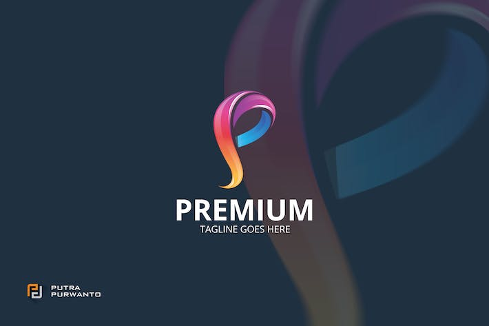 Thumbnail for Premium / P Letter - Logo Template