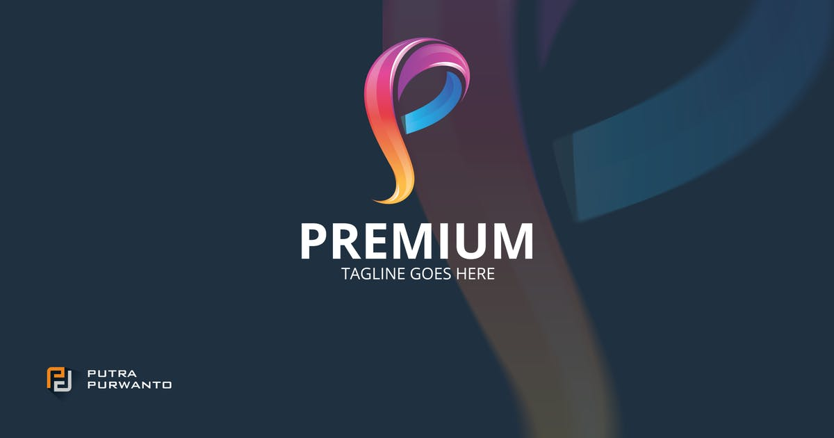 Download Premium / P Letter - Logo Template by putra_purwanto