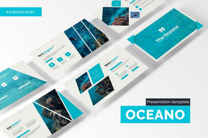 Thumbnail for The Oceano - Powerpoint Template