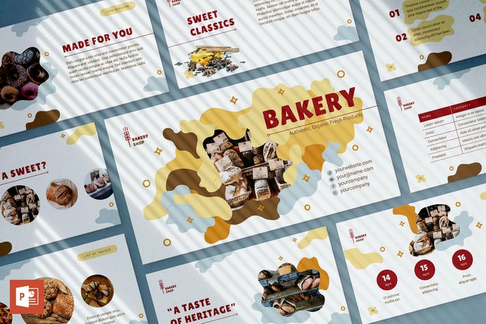 Thumbnail for Bakery PowerPoint Presentation Template
