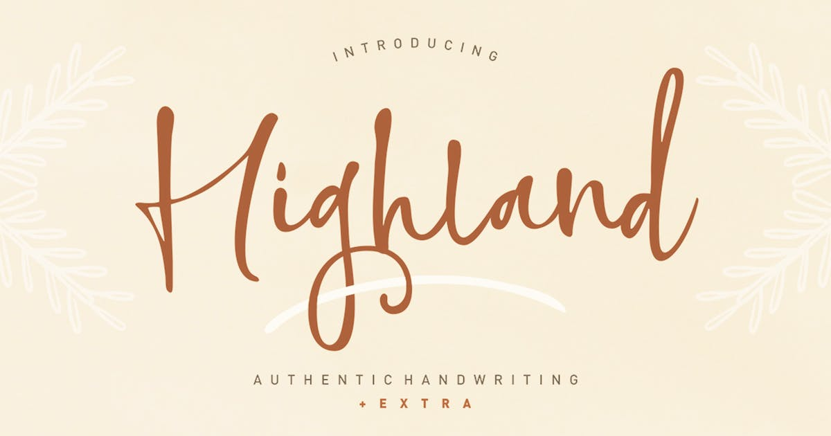 Download Highland Script by Areatype