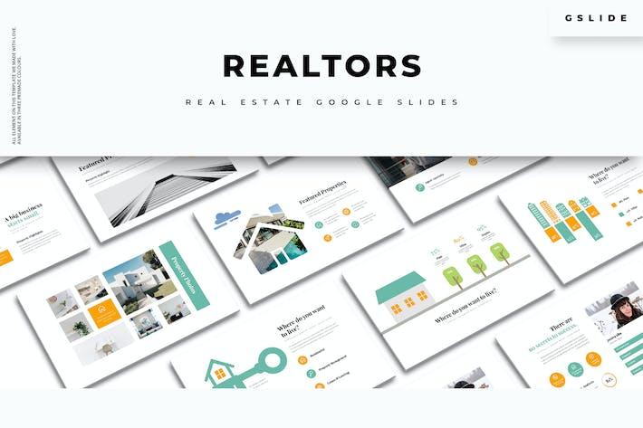 Thumbnail for Realtors: Immobilien Google Slides