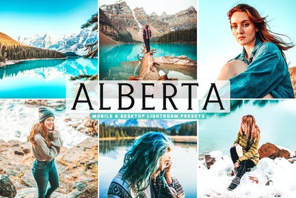 Пресеты Lightroom для мобильных и настольных ПК Alberta