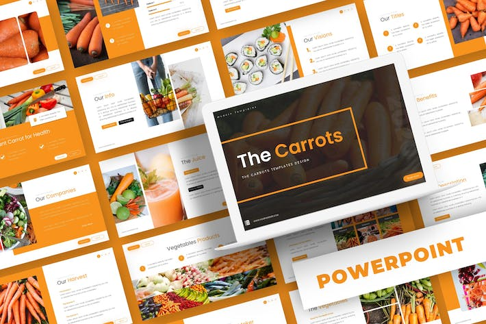 Thumbnail for The Carrot - Powerpoint Template