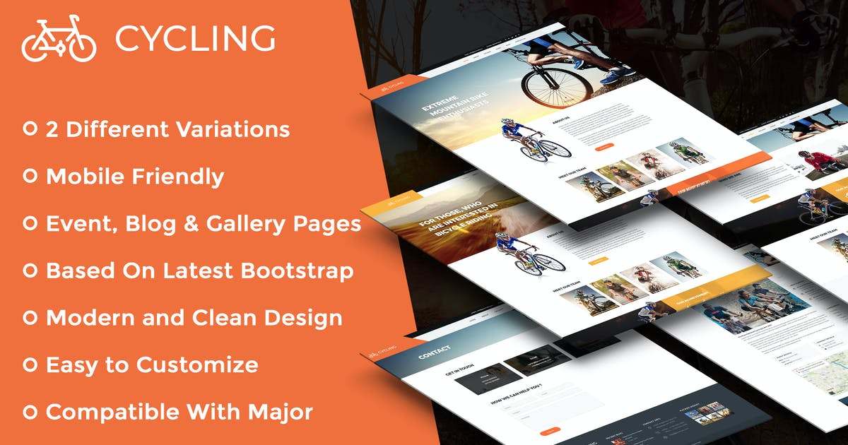 Download Cycling Multipurpose Responsive HTML Template by kamleshyadav