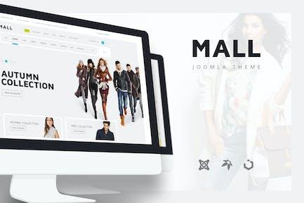 Mall — многоцелевой электронной коммерции Отзывчивый Шаблон