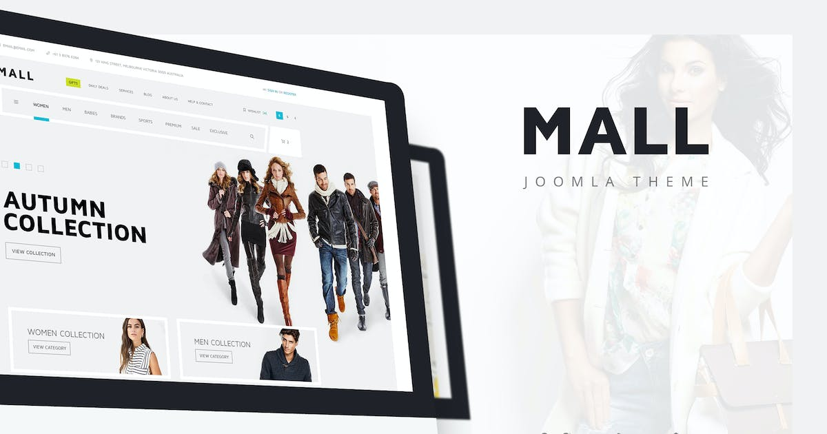 Download Mall — Multi-Purpose eCommerce Responsive Template by torbara