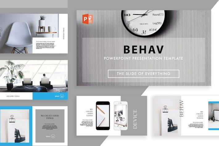 Thumbnail for Behav Powerpoint Template