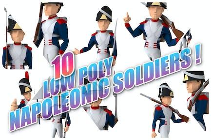 10 napoleonic Soldiers !