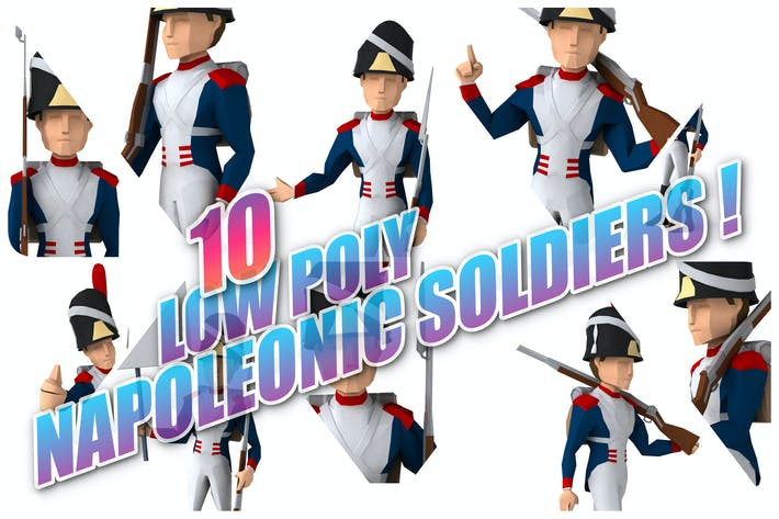 Thumbnail for 10 napoleonic Soldiers !