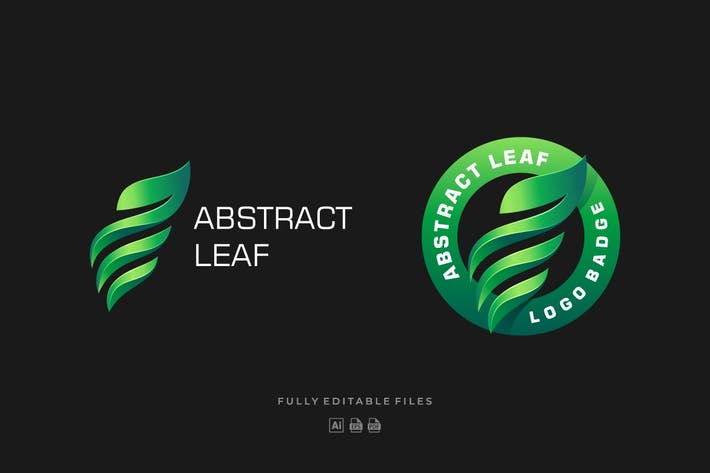Thumbnail for Abstract Leaf Colorful Logo Template