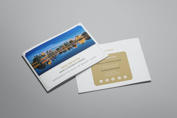 Thumbnail for Nixie - Hotel Brochure Template