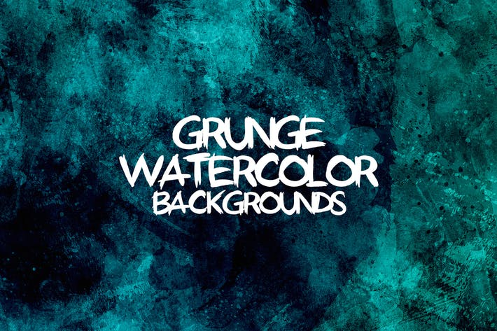 Cover Image For Grunge Watercolor Backgrounds
