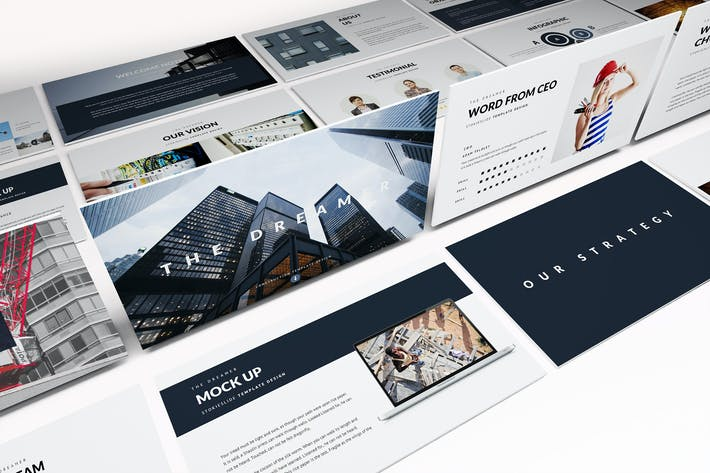 Modern construction powerpoint template by incools on envato elements modern construction powerpoint template toneelgroepblik Image collections