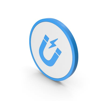 Icon Magnet Blue