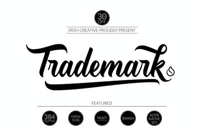 Thumbnail for TradeMark Font Script