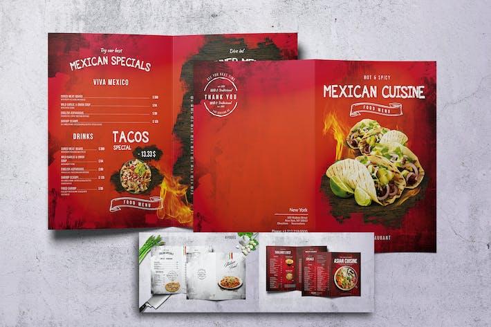 Thumbnail for Different Cuisines Bifold Menu Bundle