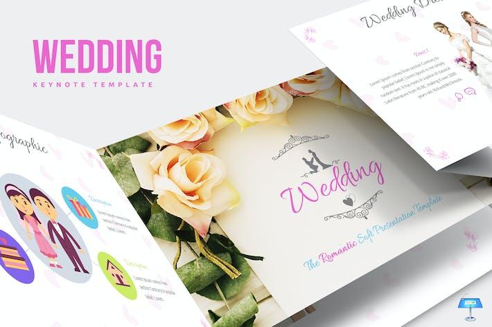 Thumbnail for Wedding Keynote Template