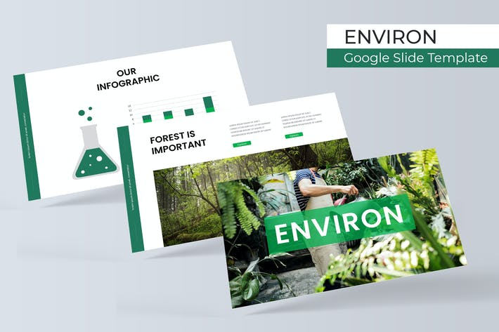 Thumbnail for Environ - Google Slide Template