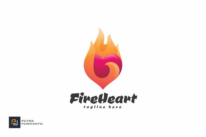 Thumbnail for Fire Heart - Logovorlage