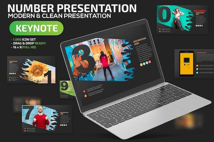 Number Keynote Presentation