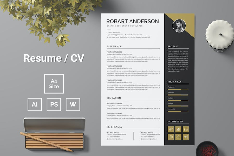 Resume Template 90