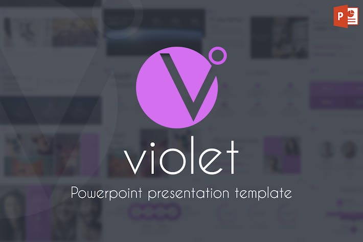 Thumbnail for Violet - Powerpoint Template