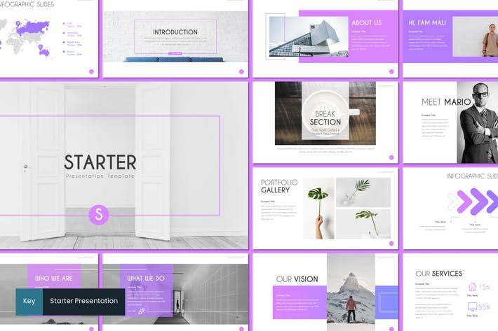 Cover Image For Starter - Keynote Template