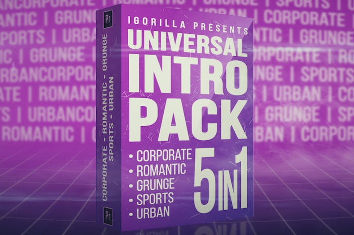 Thumbnail for Universal Intro Pack