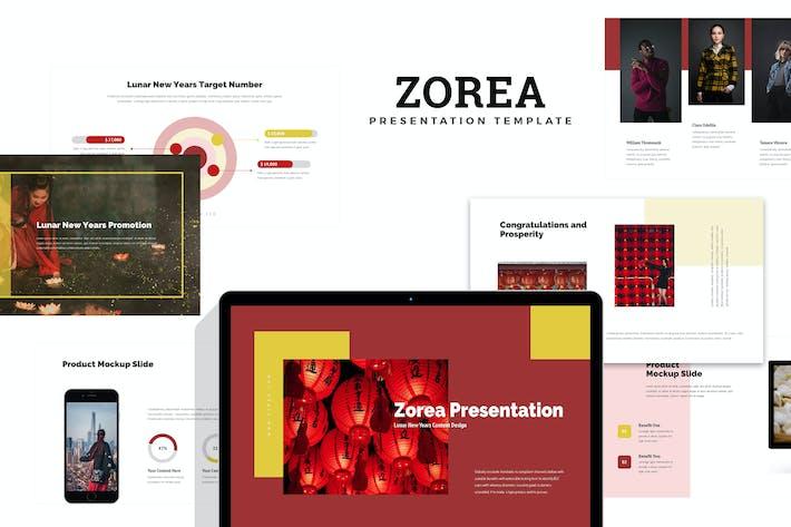 Thumbnail for Zorea : Chinese New Year Festival Google Slides