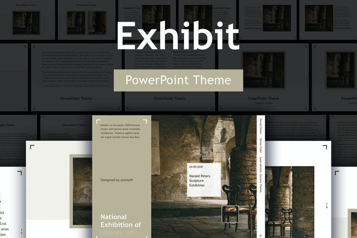 Thumbnail for Exhibit PowerPoint Template
