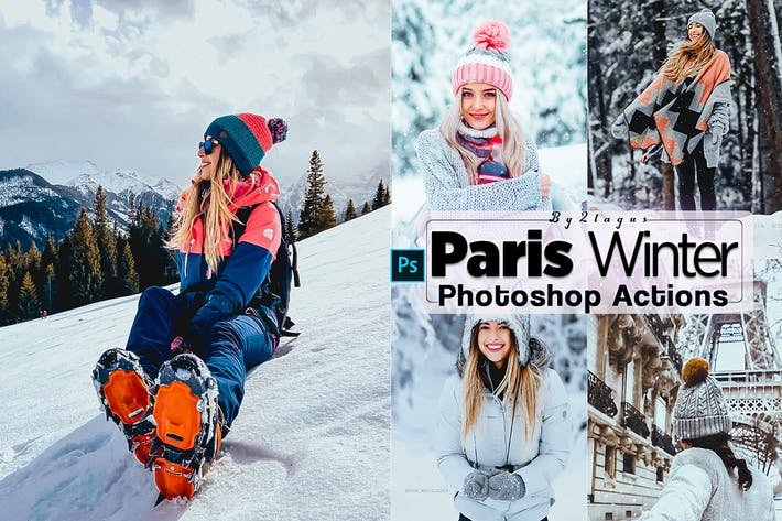Paris Wenter Photoshop Actions