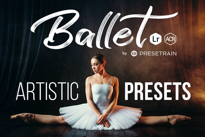 Thumbnail for Ballet Artistic Presets for Lightroom & Photoshop