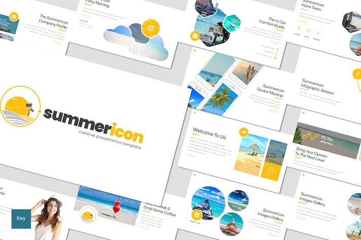 Thumbnail for Summericon - Keynote Template
