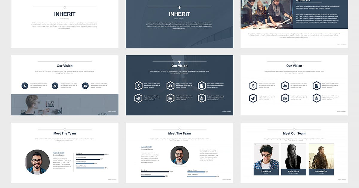 Inherit : Keynote Presentation by Unknow
