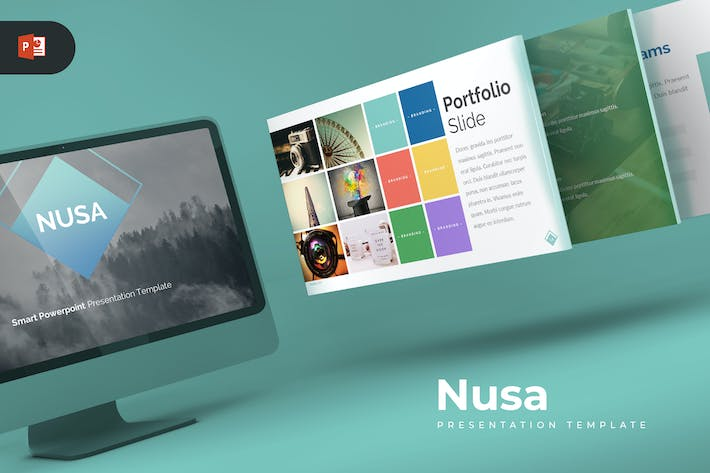 Thumbnail for Nusa - Powerpoint Template