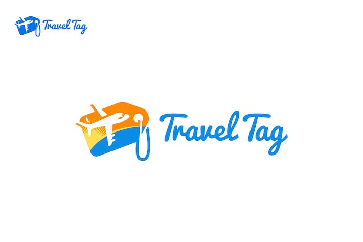 Cover Image For Travel Tag Logo