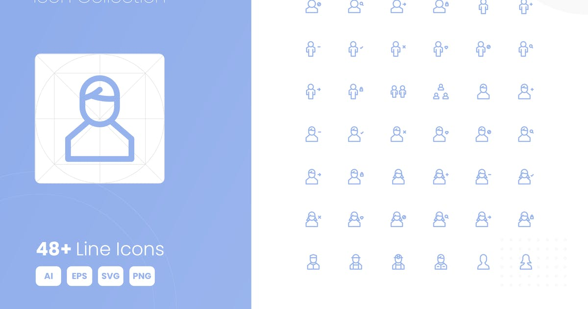 Download 48 User Icon Collection by studiotopia