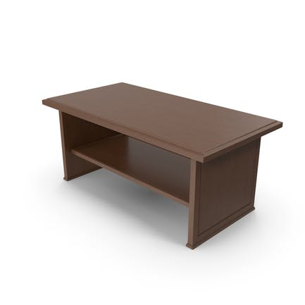 Wooden Coffee Table Dark