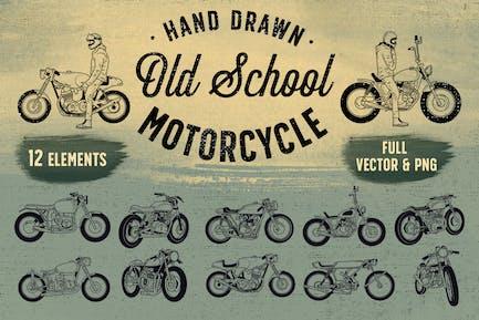 OLD SCHOOL MOTORRAD