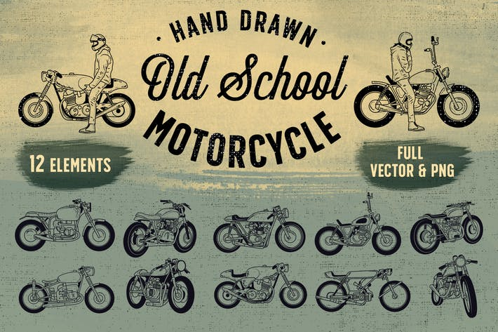 Thumbnail for OLD SCHOOL MOTORCYCLE
