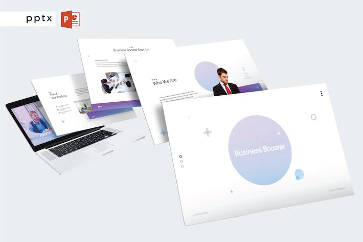 Thumbnail for BUSINESS BOOSTER - Powerpoint V356
